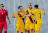 """Čempionų lygoje """"Barcelona"""" sutriuškino grubiai klydusius kauniečius"""
