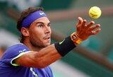 """Bauginantis dominavimas: R.Nadalis varžovui įteikė du """"riestainius"""""""