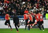 """PSG vargai Prancūzijos taurės finale: išbarstytas pranašumas, K.Mbappe raudona kortelė ir baudinių serijoje triumfavę """"Rennes"""""""