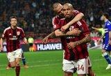 N.De Jongas nepatenkintas Milane
