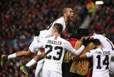 """Čempionų lyga: antrajame kėlinyje """"Manchester United"""" baudę PSG iškovojo saldžią pergalę, O.G.Solskjaeras patyrė pirmą pralaimėjimą"""