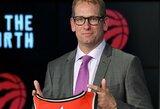 """Naujasis """"Raptors"""" treneris žada labiau išnaudoti J.Valančiūną"""