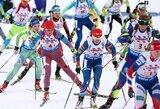 Labai prastai šaudę Lietuvos biatlonininkai pasaulio čempionato starte aplenkė dvi komandas