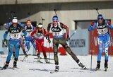 Pasaulio biatlono čempionatas lietuviams prasidėjo nesėkmingai