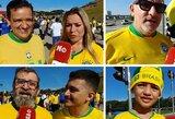 Kur Brazilijos rinktinės sirgaliai nori, jog kitą sezoną rungtyniautų Neymaras?
