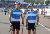 Biatlonininkai T.Kaukėnas ir N.Kočergina – Lietuvos asmeninių lenktynių čempionai
