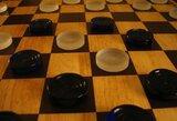 Europos šaškių čempionate lietuviams prie lyderių priartėti nepavyksta
