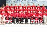 Lietuvos vyrų ledo ritulio rinktinės debiutą Baltijos taurėje apkartino latviai