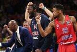"""Eurolygos čempionai nukarūnuoti: 14 taškų deficitą panaikinusi CSKA palaužė """"Real"""" ir žengė į finalą"""