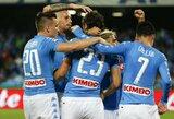 """""""Napoli"""" klubas toliau stengiasi neatsilikti nuo """"Juventus"""""""