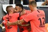 Neymaro įvartis padovanojo PSG dar vieną pergalę