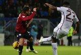 """""""Cagliari"""" ir """"Torino"""" susitikimas baigėsi be įvarčių"""