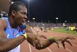 Deimantinės lygos varžybose Šveicarijoje sprinteris Y.Blake'as pasiekė trečią rezultatą istorijoje