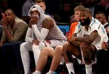 """""""Knicks"""" žaidėjai protestuoja prieš Ph.Jacksono trikampę puolimo sistemą"""