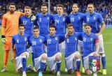 Italija ir Čilė paskelbė savo galutines sudėtis pasaulio čempionatui