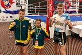 Jaunoji M.Bazytė kovos dėl pasaulio muaythai čempionato aukso