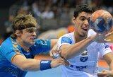 "Minsko ""Dinamo"" su R.Čepuliu EHF Čempionų lygoje iškovojo pirmąjį tašką"
