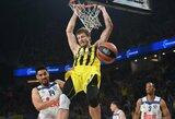 Eurolygos čempionai nukovė CSKA krepšininkus, L.Westermannas buvo universalus
