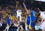"""""""Clippers"""" nepasiduoda: antrą kartą patiesė """"Warriors"""""""