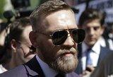 Paaiškėjo, kas C.McGregorą palaikys ir jam padės arčiausiai ringo