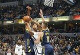 """Pacers"" kreipėsi į NBA vadovus dėl problemos, su kuria susidūrė ir D.Sabonis"