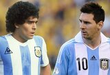 """A.Pirlo: """"L.Messi niekada neaplenks D.Maradonos, jeigu nelaimės pasaulio čempionato"""""""