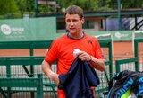 Ar pasikartos Dohos turnyro sensacija? R.Berankis Paryžiuje susitiks su geriausiu Belgijos tenisininku