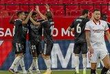 """""""Real"""" vietiniame čempionate išvargo pergalę prieš """"Sevilla"""""""