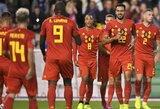 EURO2020 atranka: 9 įvarčius varžovams atseikėjusi Belgija nušlavė San Marino futbolininkus