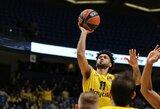 """Įspūdinga drama: C.Higginsas """"Barcelonai"""" išplėšė pratęsimą, tačiau jame 3 tūkst. sirgalių palaikoma """"Maccabi"""" nukovė Š.Jasikevičiaus ekipą"""