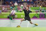 Badmintono turnyre Bulgarijoje – nuviliantis K.Navicko pasirodymas