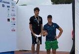 Šuolių į vandenį varžybose Olandijoje S.Konecki laimėjo net tris medalius
