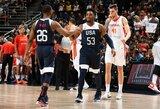 Keturios rinktinės, kurios gali įveikti JAV krepšininkus