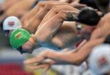 A.Šidlauskas aplenkė 59 varžovus ir pasaulio jaunimo plaukimo čempionate pateko į pusfinalį