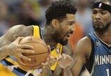 """""""Timberwolves"""" Denveryje kirto prieš """"Nuggets"""" krepšininkus"""