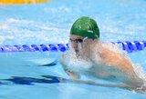 G.Titenis nepateko į Londono olimpinių žaidynių finalą plaukdamas 200 m krūtine
