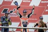 Dramatiškose lenktynėse Argentinoje – M.Marquezo pergalė, sutrumpinta distancija ir gausybė sportininkų kritimų