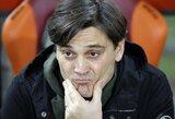 "Oficialu: ""Milan"" atleido V.Montellą, klubui vadovaus G.Gatusso"
