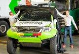 """V.Žala ir S.Jurgelėnas Dakare startuos su """"Toyota Hillux"""""""