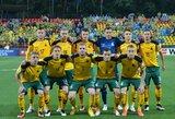 Paskelbta Lietuvos rinktinės sudėtis rungtynėms su Škotija ir Malta