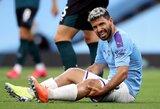 P.Guardiola baiminasi, jog S.Aguero gali iškristi iš rikiuotės visam likusiam sezonui