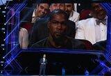Buvęs NFL žaidėjas puikiai pašiepė K.Durantą, juokėsi net krepšininko mama