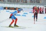 Europos jaunių žiemos olimpiniame festivalyje slidininkas S.Terentjevas užėmė 27-ą vietą