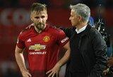 """L.Shaw užstojo atleistą trenerį: """"Žmonės turi gerbti J.Mourinho"""""""