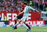 """Varžovų nerealizuotu baudiniu pasinaudojęs """"Bayern"""" klubas išplėšė lygiąsias, tačiau praleido galimybę sutvirtinti """"Bundesliga"""" lyderio poziciją"""