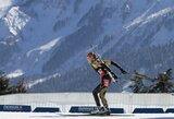 Pasaulio biatlono taurės etape Sočyje lietuviai liko toli nuo lyderių