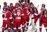 Euroturo turnyrą Čekijoje Rusija baigė iškovodama pergalę prieš šeimininkus