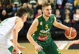 """Varžovus sutriuškinęs """"Nevėžis"""" tapo FIBA Europos taurės grupės nugalėtoju"""