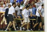 Sunkią kryžminių kelio raiščių traumą patyrusiam M.Asensio atlikta operacija