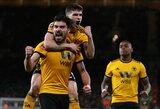 """Sensacija FA taurėje: fantastiškas R.Neveso šūvis eliminavo šešiolikmečiu gynyboje pasikliovusius """"Liverpool"""""""